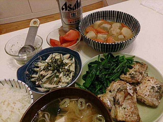 太刀魚のムニエル〜バターソテーともいふ